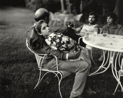 "Sally Mann, 'Untitled from the ""At Twelve"" Series, Leah and her Father', 1983-1985"