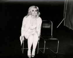 Andy Warhol, 'Andy Warhol, Photograph of Debbie Harry (Blondie) Seated, 1986', 1986