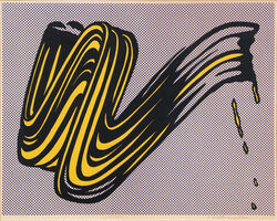 Roy Lichtenstein, 'Brushstroke ', 1965