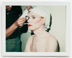 Andy Warhol, 'Andy in Drag Having Makeup Done', 1981