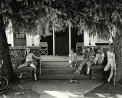 "Sally Mann, 'Untitled from the ""At Twelve"" Series, Jessie Manuel on Porch', 1983-1985"