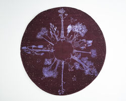 The Haas Brothers, 'Animal Planet' rug in wool and silk, Dark Colorway.', 2014