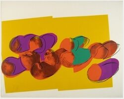 Andy Warhol, 'Space Fruit - Peaches', 1979