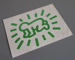 Keith Haring, 'Radiant baby', 1984