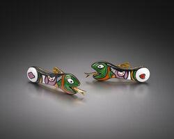 Niki de Saint Phalle, 'Snake Cufflinks', 1971-2015