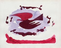 Georges Braque, 'Oiseaux III', 1962