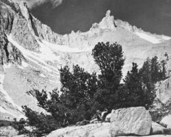Ansel Adams, 'Milestone Mountain in Kern River Sierra', 1939
