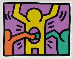 Keith Haring, 'POP SHOP I (1)', 1987
