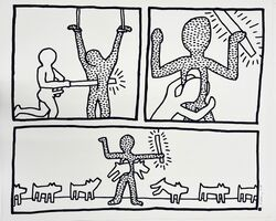 Keith Haring, 'Untitled (from The Blueprint Drawings)', 1990