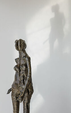 Ralph Brown and the Figure in the Fifties and Sixties, installation view