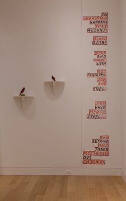 Tony Fitzpatrick: The Secret Birds, installation view