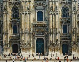 Thomas Struth, 'Mailänder Dom (Fassade), Mailand', 1998