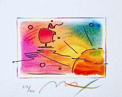 Peter Max, 'Sunset Sail', 1998