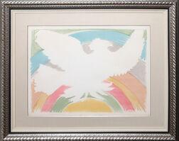 Pablo Picasso, 'Colombe Volant (a l'Arc en Ciel) (Bloch 712)', 1952