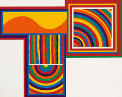Sol LeWitt, 'Arcs and Bands in Color 1', 1999