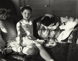 "Sally Mann, 'Untitled from the ""At Twelve"" Series, Lithe and Birthday Cake', 1983-1985"
