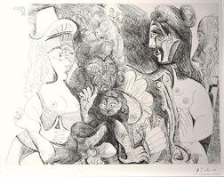 Pablo Picasso, 'La Fête de la Patronne', 1971
