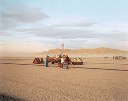 Richard Misrach, 'Waiting, Edwards Air Force Base, California', 1983