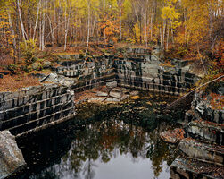 Edward Burtynsky, 'Vermont Marble Company #5, Abandoned Granite Quarry', 1991