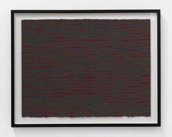 Sol LeWitt, 'Horizontal Brushstrokes (More or Less)', 2003