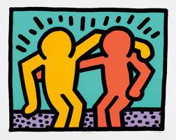 Keith Haring, 'Best Buddies', 1990