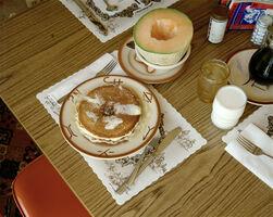 Stephen Shore, 'Breakfast, Trail's End Restaurant, Kanab, Utah, August 10, 1973', 1973