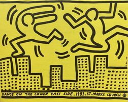Keith Haring, 'Keith Haring Dance on the Lower East Side ', 1983