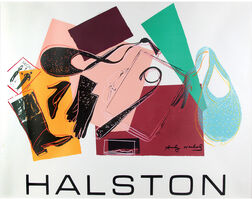 Andy Warhol, 'Halston Advertising Campaign - Women's Accessories', 1982