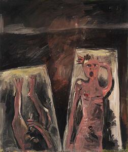 Walter Dahn, 'The Bed-Painting II', 1983