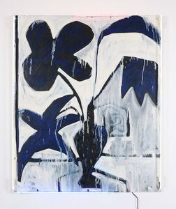 Thrush Holmes, 'Untitled White and Navy', 2013