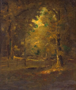 Ralph Albert Blakelock, 'California Landscape', Late 19th century