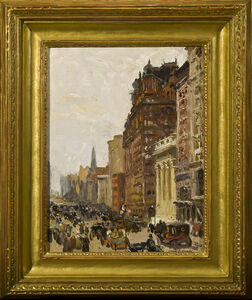 Colin Campbell Cooper, 'Waldorf Astoria', about 1908