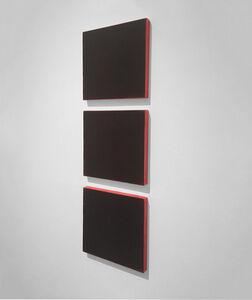 Ted Kurahara, 'Blacks Over Red', 1999