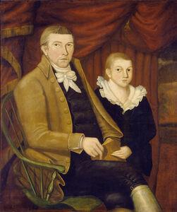 Jonathan Budington, 'Father and Son', 1800
