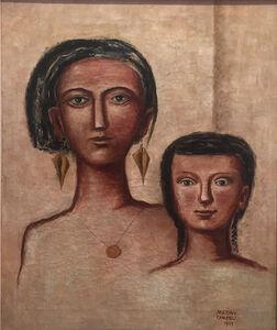 Massimo Campigli, 'Madre e figlia', 1929