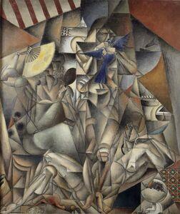 Jean Metzinger, 'Blue Bird', 1912-1913
