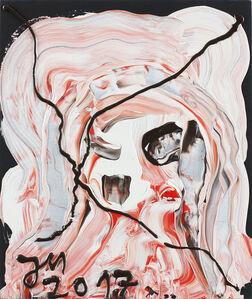 "Jonathan Meese, '""ERZEROTIK (KÖNIG)""', 2017"