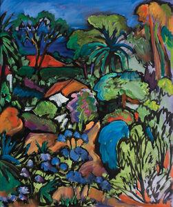 Jeffrey Hessing, 'Provencal Garden (Villa Romarine, Cap Ferrat)'