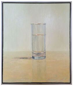 Brian Blackham, 'Water Glass on Table', 2009