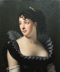 Anne-Louis Girodet-Trioson, 'Portrait of Madame Bertin de Vaux', 1806
