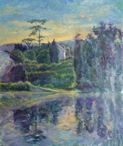 Helene Halstuch, 'The Lot River at Sunrise'