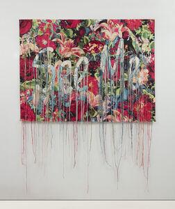 Ebony G. Patterson, '…bearing witness…', 2017