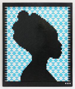 Faatimah Mohamed-Luke, 'ROAQ II blue', 2018
