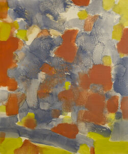 Carl Holty, 'Untitled (Red, Yellow, Blue, Gray)', 1971