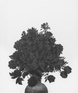 Kim Eunju, 'Then I quietly draw a flower', 2019