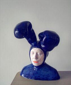 Iván Prieto, 'Rabbit in blue', 2019