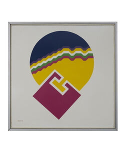 """Mohamed Chebaa, 'Untitled (""""Abstract"""")', 1974"""