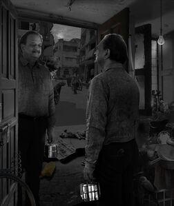 Ranbir Kaleka, 'The Unremarkable Life of Man with Tiffin', 2019