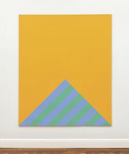 Winfred Gaul, 'Striped edge III', 1967/70