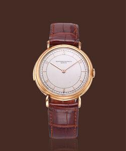 Vacheron & Constantin, 'Pink gold wristwatch'